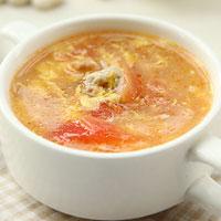 Giảm cân với canh cà chua trứng