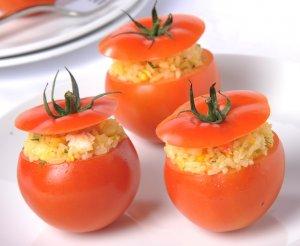 Cơm chiên cà chua
