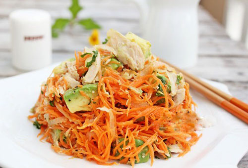 Cách làm salad cà rốt