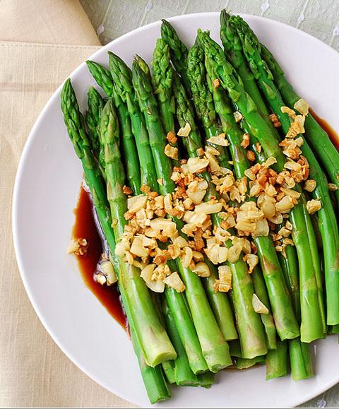 Măng tây tốt cho sức khỏe và cả