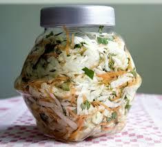 Bắp cải chua giảm béo
