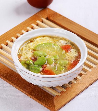 Cách nấu món canh ngon từ canh trứng bí ngòi
